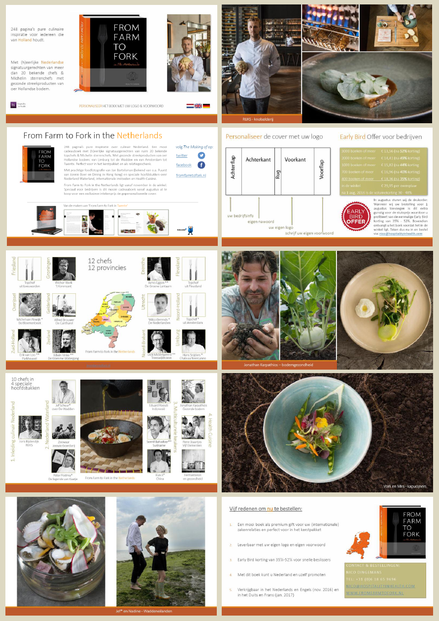 Brochure - From Farm to Fork in the Netherlands